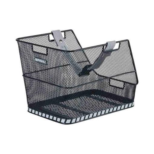 basil-class-schultaschenkorb-hinten-schwarz